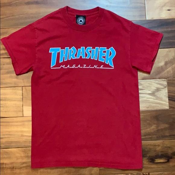 6cdf42a376c6 Thrasher Shirts | Mens Magazine Shirt Size Small | Poshmark